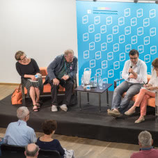 Javier Cercas, Adam Michnik i Ewa Zaleska