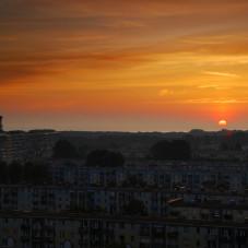 Wschód słońca nad Przymorzem
