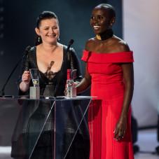 Eliane Umuhire i Jowita Budnik