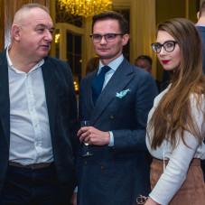 Piotr Grzechowiak – prezes zarządu Grupy ODiTK, Mikołaj Franas – członek zarządu Polskiego Związku tenisowego, mec. Dorota Rogowska