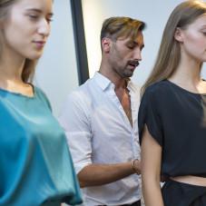 Piotr Sałata i modelki Malva Models