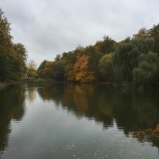 Jesienne barwy w Parku Oruńskim