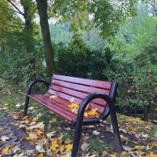Samotna ławka - Park Witomiński