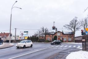 Skrzyżowanie ulic Płk. Dąbka i Kwiatkowskiego