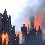 Pożar  Św.Katarzyny