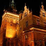 Katownia  widziana nocą