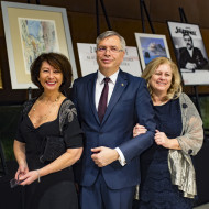 Magdalena Pramfelt- Konsul Honorowy Szwecji,Teresa i Marek Głuchowscy - Honorowy Konsul Generalny Wlk. Brytanii