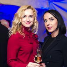 Monika Żołnierzak i Justyna Mitros
