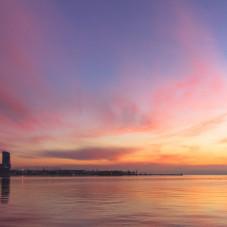 Gdynia  wschód słońca