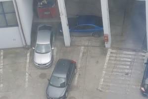 Trzech gigantów parkowania...