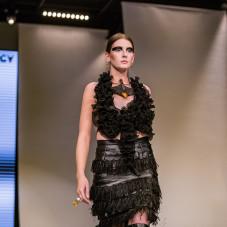 Transparency fashion Magdalena Arłukiewicz - Marlu | jewellery Andrzej i Jolanta Kupiewscy