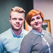 Laura Tkacz i Jarosław Kieko