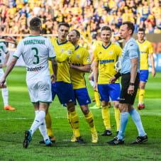 Jakub Wawrzyniak, Damian Zbozień, Rafał Siemaszko, Mateusz Szwoch i Paweł Raczkowski