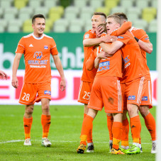 Vladislavs Gutkovskis bramka na 0:1