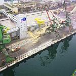 Nabrzeże szwedzkie, Port Gdynia