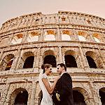 Plener ślubny w Rzymie
