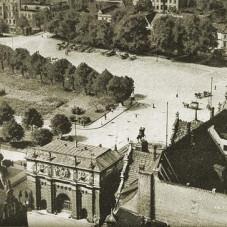 Panorama Targu Siennego  od strony Targu Węglowego