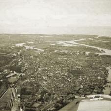 Gdańsk, wyspa Ostrów, widok w stronę ujścia Wisły