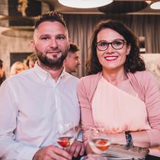 Aneta Cedrowska z mężem