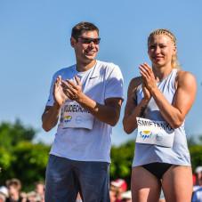 Paweł Wojciechowski i Justyna Śmietanka