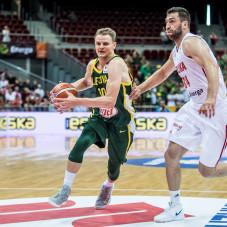 Renaldas Seibutis i Adam Hrycaniuk