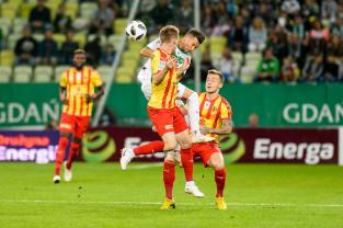 Lechia Gdańsk - Korona Kielce 2:0. Czwarte zwycięstwo z rzędu