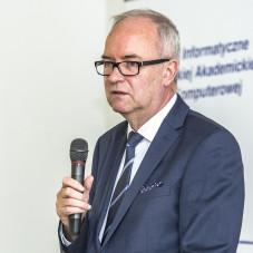 prof. Jerzy Gwizdała, rektor UG