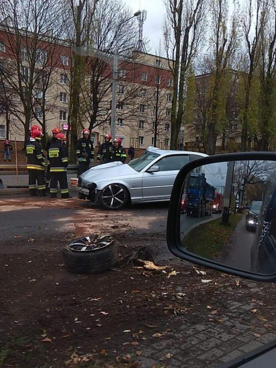 Korki po wypadku na al. Zwycięstwa w Gdyni