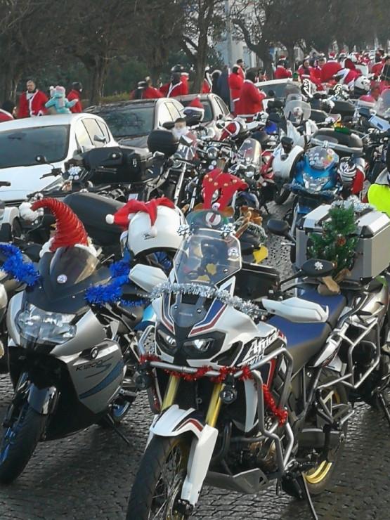 Mikołaje na motorach szykują się do drogi