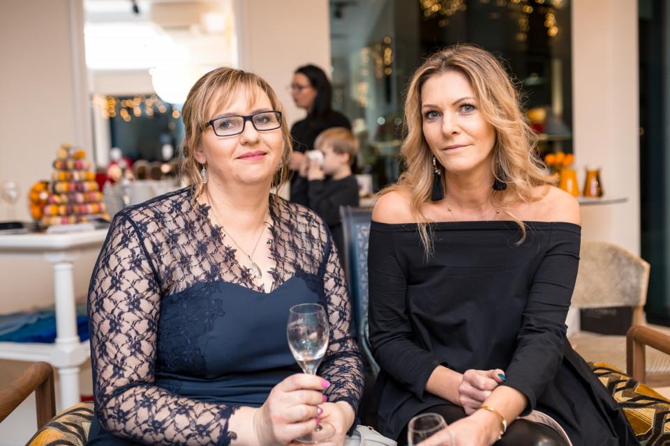 Maria Kruszyńska i Ewa Gostkowska