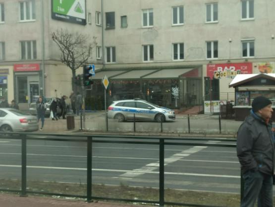 Kolizja w okolicy ul. Miszewskiego