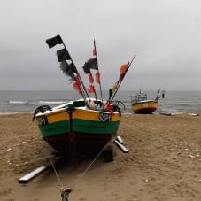 na sopockiej plaży