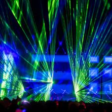 Pokaz laserowy