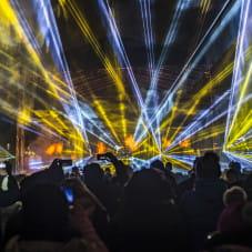 Pokaz laserów