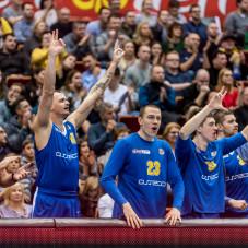 Dariusz Wyka, Grzegorz Kamiński, Maciej Leszczyński i Jakub Garbacz