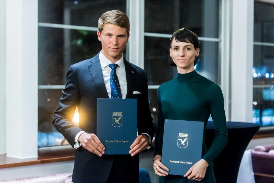 Paweł Tarnowski i Anna Kiełbasińska