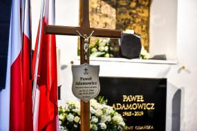 Grób Pawła Adamowicza