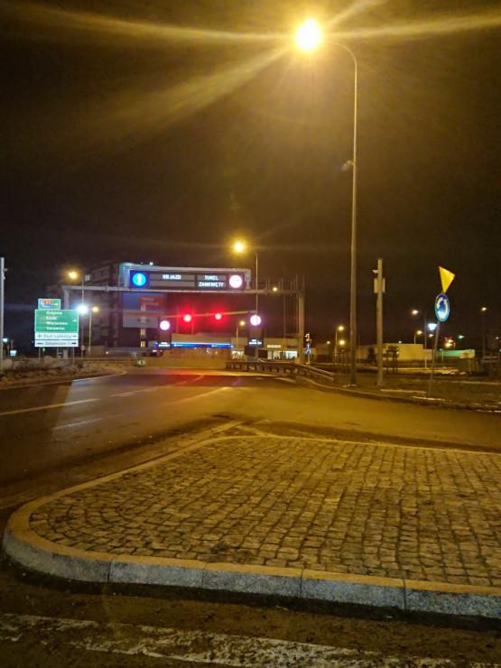 Zamknięty tunel w stronę Stogów i Przeróbki