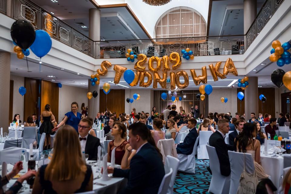 Studniówka XIX LO w Gdańsku w Sheraton Sopot Hotel