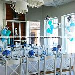 Dekoracja restauracji White Marlin Sopot ~ Balony z Helem w Sopocie ~ Trójmiasto ~ Biały Marlin
