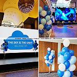 Dekoracje firmowe na imprezie firmowej ~ Dekori ~ Balony z Helem Sopot ~ Dekoracja na Event Gdynia