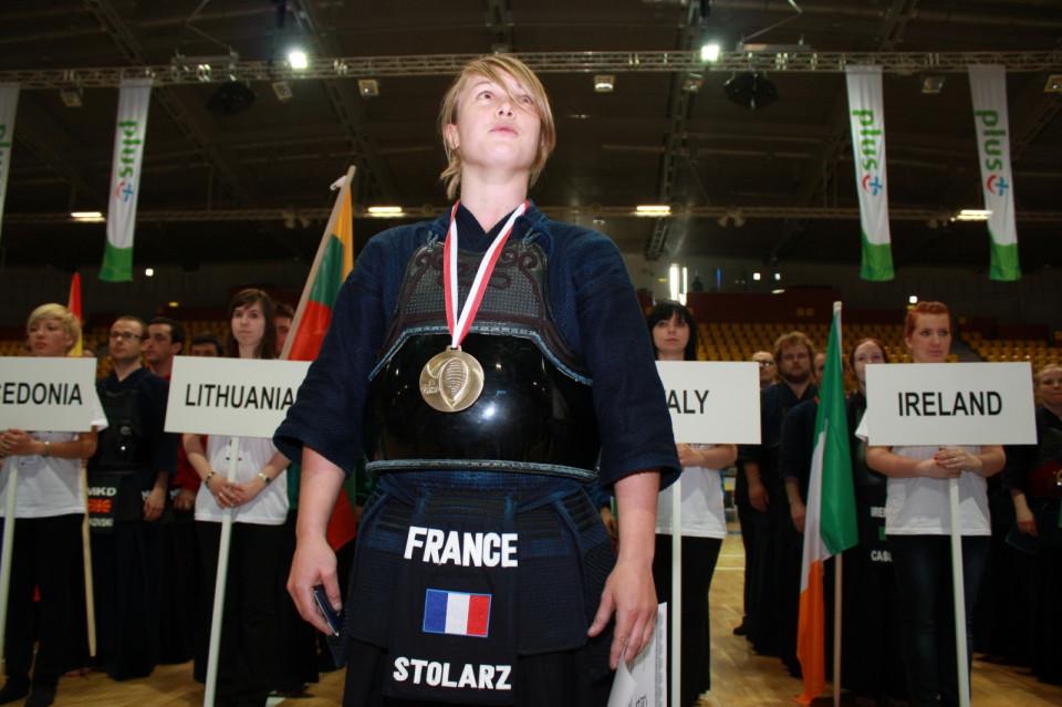 Polska Stolarz z Francji ze złotem