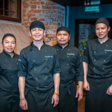 Team restauracji Thai Thai