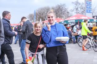 Food trucki opanowały parking Stadionu Energa Gdańsk