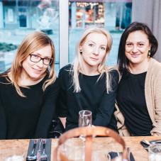 Justyna Brostkowska, Wioletta Bejger, Magdalena Rudnicka