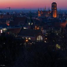 Gdańsk o świcie