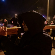 V Nocne Misterium Krzyża na ulicach Gdańska