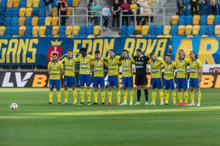 Arka Gdynia - Miedź Legnica 2:0. Pierwsze zwycięstwo od 5 miesięcy