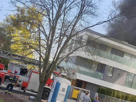 Pożar dachu, Orłowo