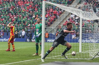 Lechia Gdańsk - Jagiellonia Białystok 1:0. Puchar Polski zdobyty!